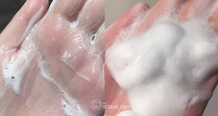 Real Barrier Cream Cleansing Foam Lather