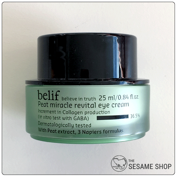 Belif Eye Cream - Peat Miracle Revital Formula Reduces Fine Lines & Wrinkles 1000 Roses Heavenly Night Cream - 1.7 oz. by Andalou Naturals (pack of 3)