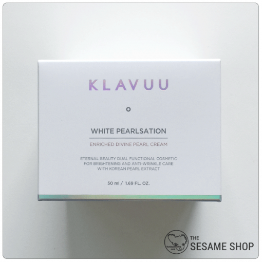 Klavuu White Pearlsation Enriched Divine Pearl Cream box