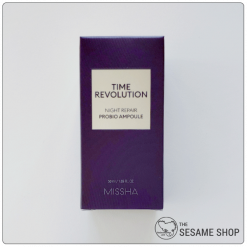 Missha Time Revolution Probio Ampoule Box